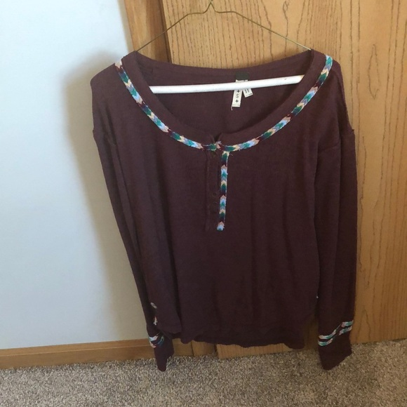 Free People Tops - Free People LongSleeve Top Size Small